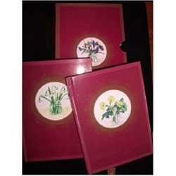 Victorian Country Flowers Birthday and Address Books