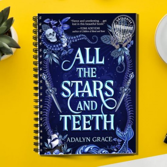 All the Stars and Teeth of Adalyn Grace  (Spiral note book)