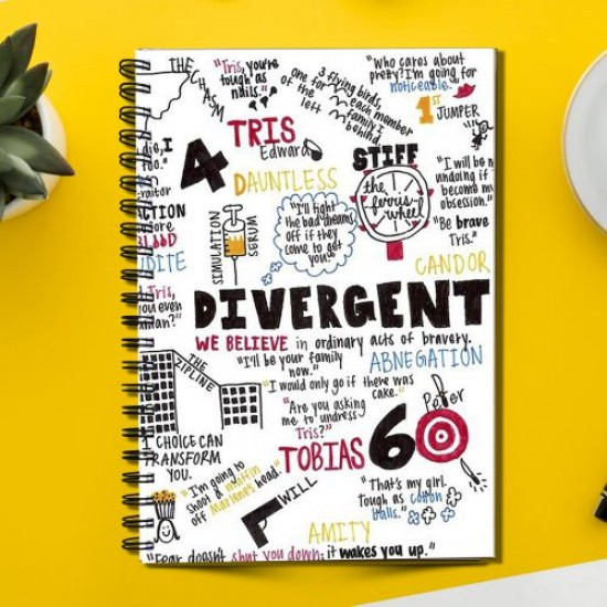 Divergent Series Cover (Spiral note book)