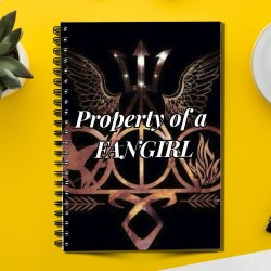 Property of FANGIRL (Spiral note book)