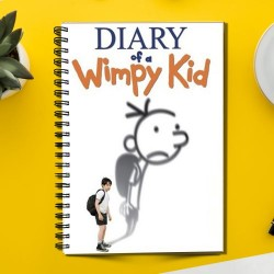 Diary of Wimpy kid Character  (Spiral note book)