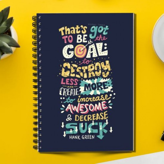 Inspirational That's Got to be  (Spiral note book)