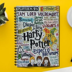 Harry Potter Expecto Patronum (Spiral note book)