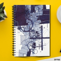 Sculptural works (Spiral note book)