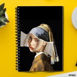 Girl with the Pearl Earring (Spiral note book)