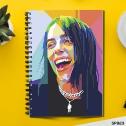 Billie Eilish Pirate Baird (Spiral note book)