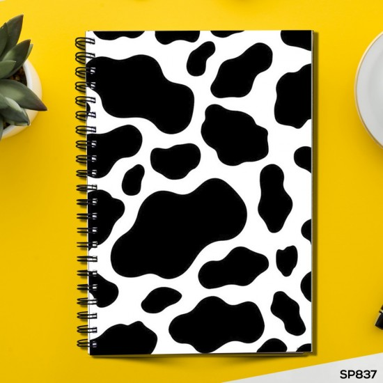 Cow Print Poster (Spiral note book)