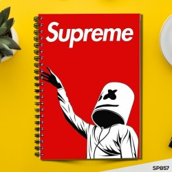 Supreme Marshmallow (Spiral note book)