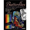 Butterflies Stained Glass Coloring Fun With 16 Butterfly IllustrationsWith Double Tipped Markers