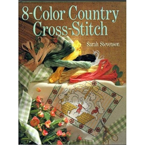 8-color country cross-stitch