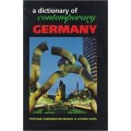 A dictionary of contemporary Germany