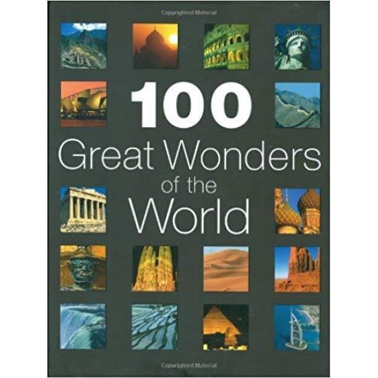 100 Great Wonders of the World Hardcover