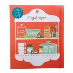 Recipe Folder - a stand up A4 recipe organiser
