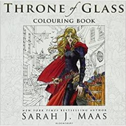 The Throne of Glass Colouring Book Paperback