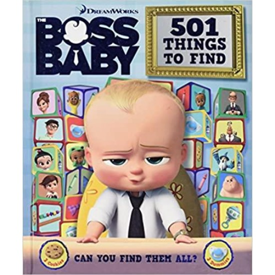 501 Things to Find (Who's Hiding Boss Baby) Hardcover