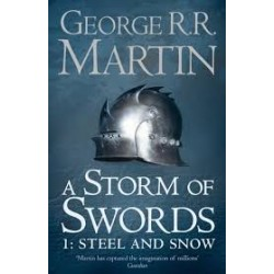 A storm of swords 1 steel and snow - (Local Budget book)