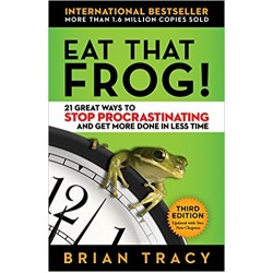 Eat That Frog!: 21 Great Ways to Stop Procrastinating and Get More Done in Less Time - (Local Budget book)