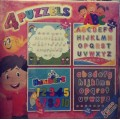 4 PUZZLES BOX random choose (3 years and above) - (Local Budget book)