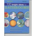 100 bright ideas for bathrooms.