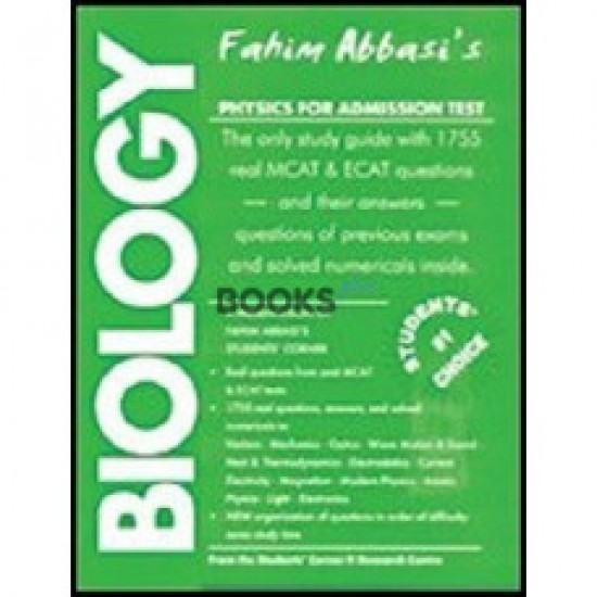 Fahim Abbasi's Biology for Admission Test